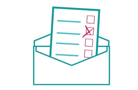 Comment puis-je voter par courrier?